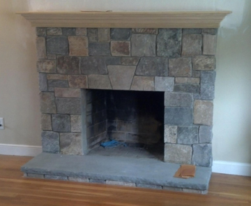 Burlington Fireplace re design