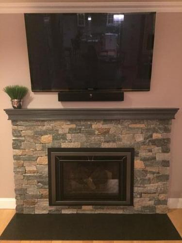 Lynnfield Fireplace re design