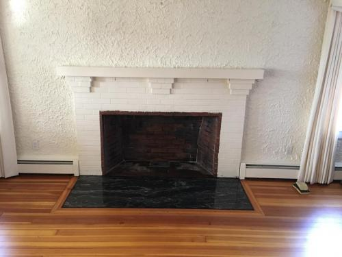 Marblehead MA fireplace renovate