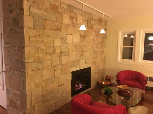 Medford Fireplace re design
