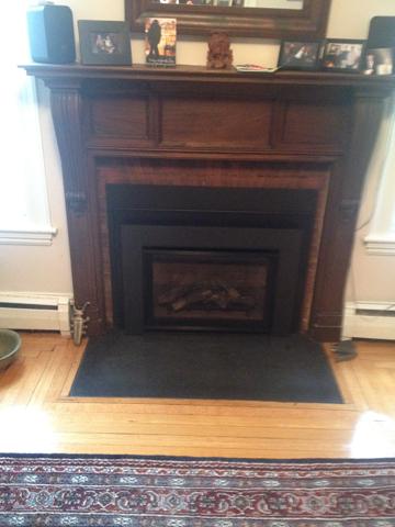 Danvers MA fireplace renovate