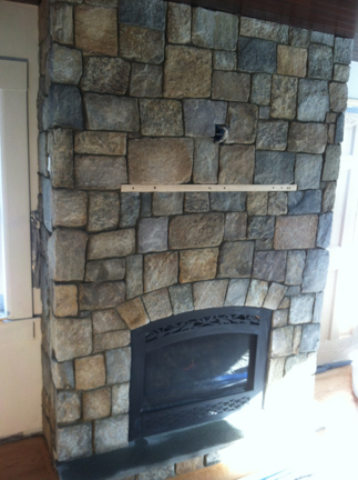 Marblehead Fireplace re design