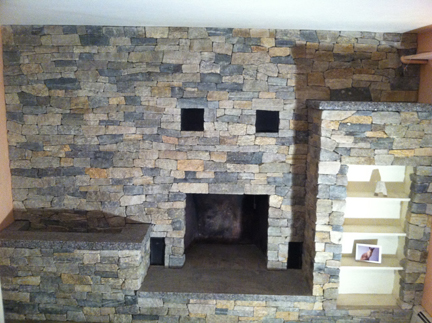 Waltham Fireplace re design