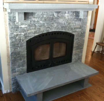 Bedford Fireplace re design