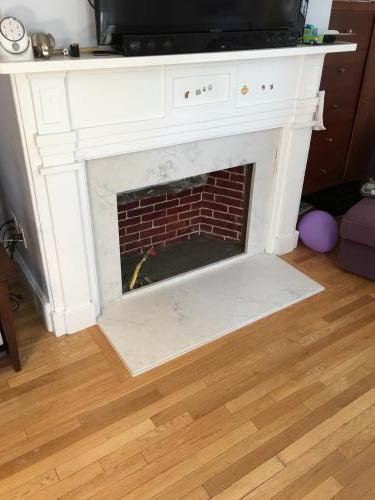 Charlestown MA fireplace renovate