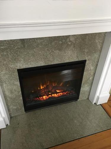 Melrose MA fireplace renovate