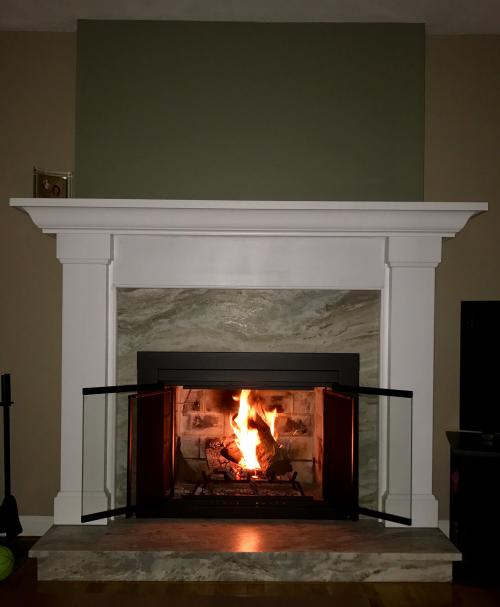 Saugus MA fireplace renovate