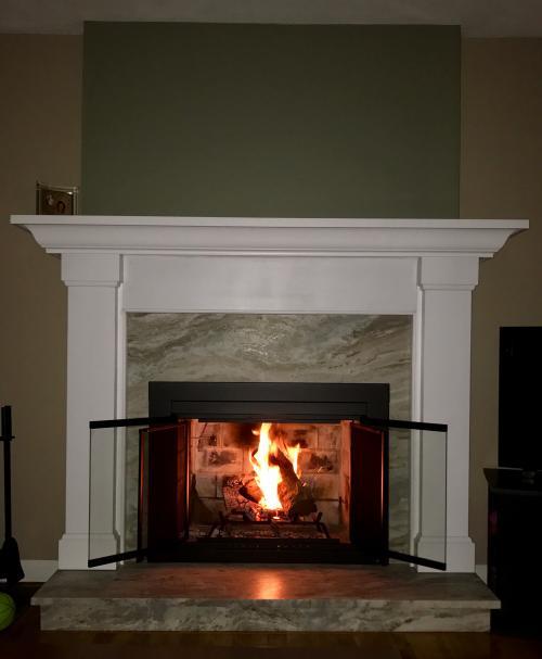 Saugus MA fireplace renovate