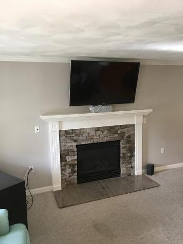 Ipswich MA fireplace renovate