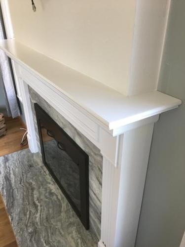North Andover  MA fireplace renovate