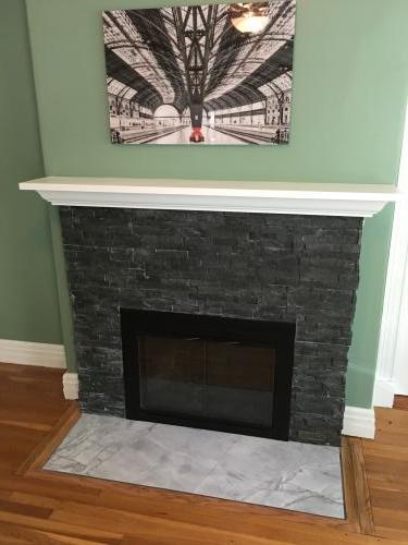 Melrose  MA fireplace renovate