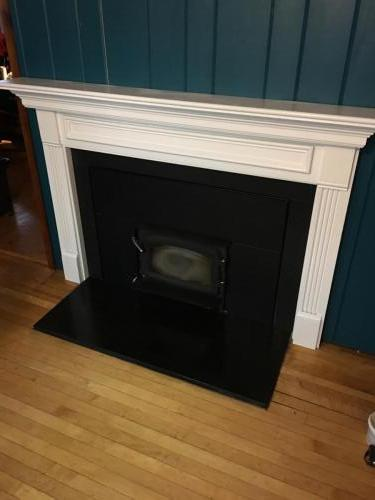 Stoneham MA fireplace redesign