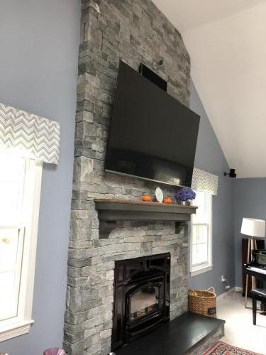 Sudbury MA fireplace re design